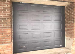 Заказать коричневые автоматические ворота в Оренбурге